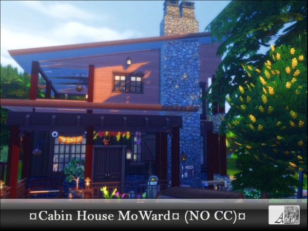 The Sims Resource: Cabin House MoWard NoCC by ADLW