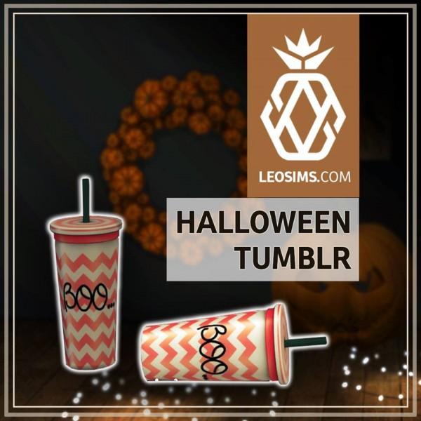 Leo 4 Sims: Halloween Decor