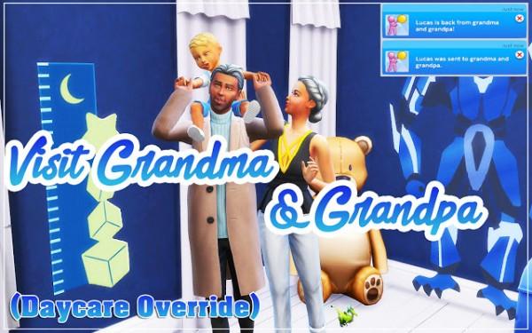 MSQ Sims: Visit Grandma And Grandpa mod