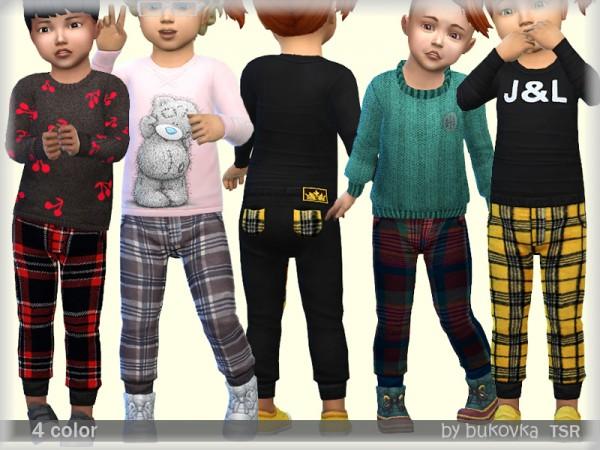 The Sims Resource: Plaid Pants by bukovka