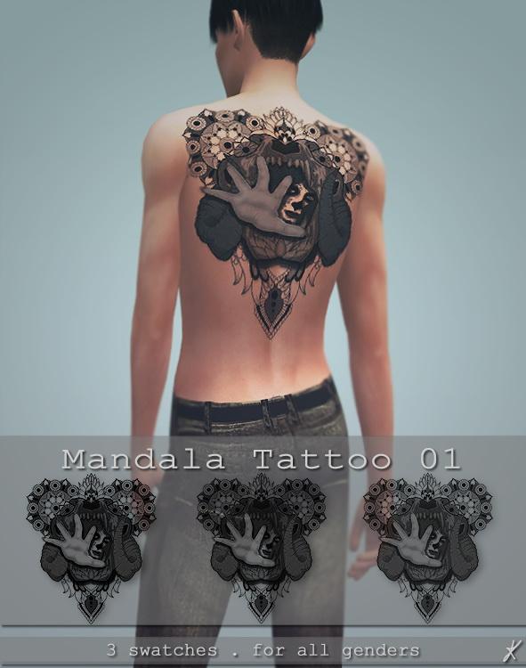 Quirky Kyimu: Mandala tattoo 01