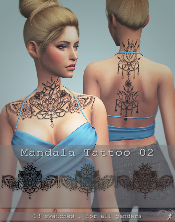 Quirky Kyimu: Mandala tattoo 02