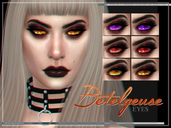 The Sims Resource: Betelgeuse eyes 2 by sugar owl