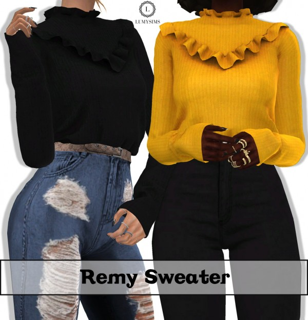 LumySims: Remy Sweater