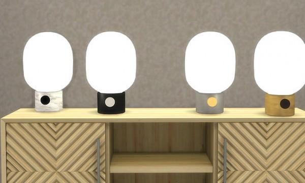 Meinkatz Creations: JWDA Table lamp