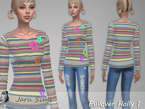 The Sims Resource: Pullover Holly 1 by Jaru Sims