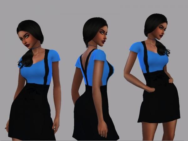 The Sims Resource: Dress Carolliny by LYLLYAN