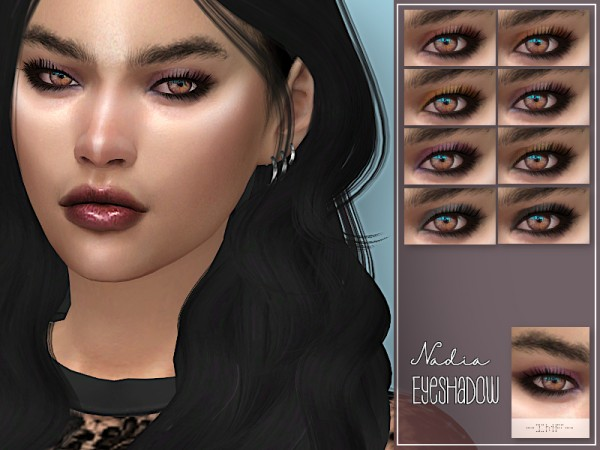 The Sims Resource: Nadia Eyeshadow N.53 by IzzieMcFire