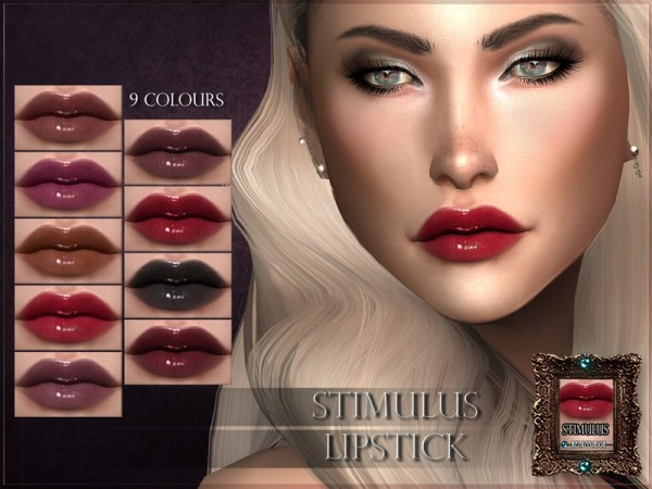 The Sims Resource: Stimulus Lipstick by RemusSirion
