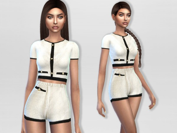 The Sims Resource: Dania Outfit by Puresim