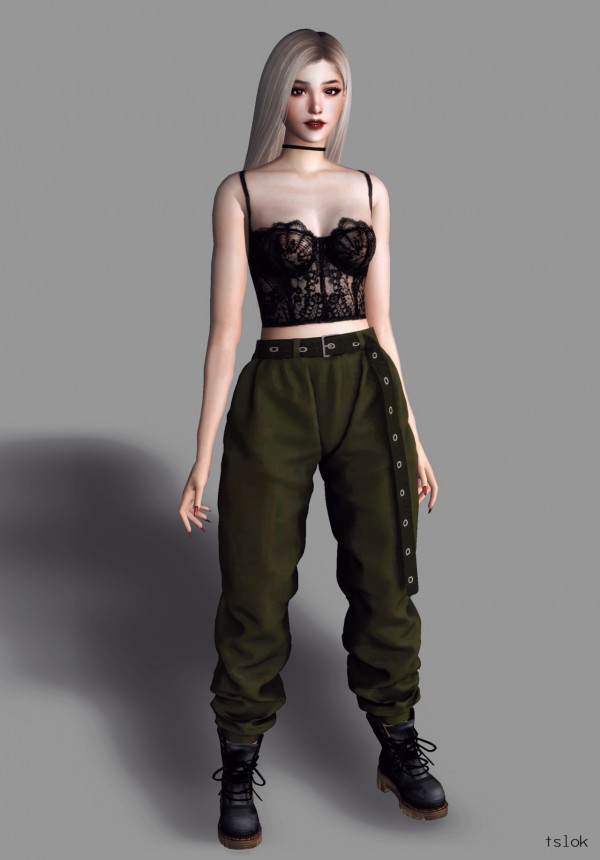 Tslok Cadet Cargo Pants Sims 4 Downloads