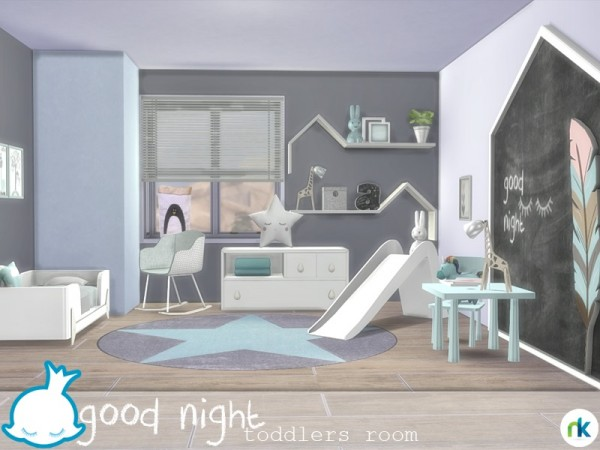 Amelia S Room Toddler Bedroom: The Sims Resource: Good Night Toddlers Room By Nikadema