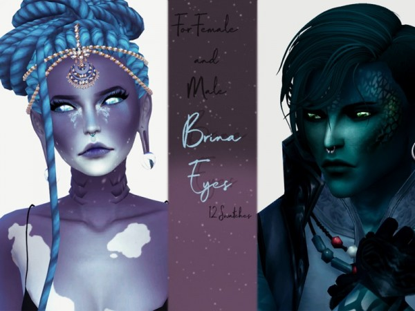 The Sims Resource: Brina Eyes by Reevaly