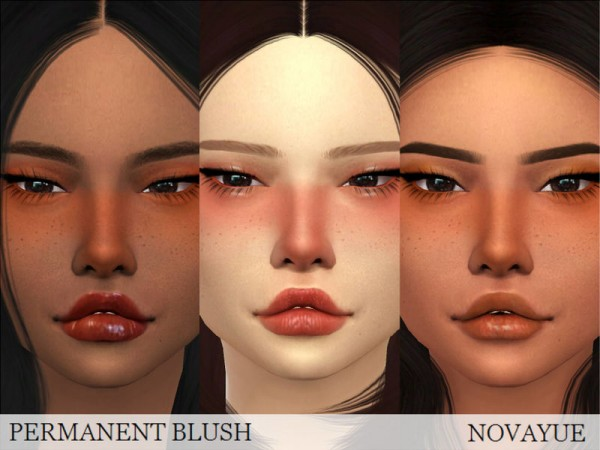The Sims Resource: Permanent Blush by NovaYue