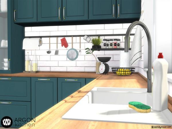 The Sims Resource Argon Kitchen By Wondymoon Sims 4