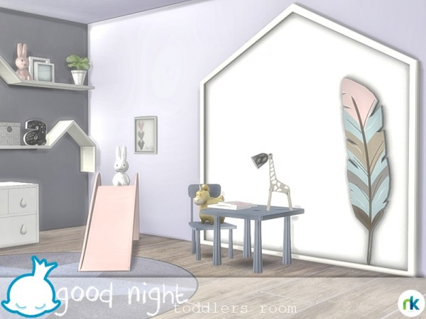 The Sims Resource: Good Night Toddlers Room by nikadema