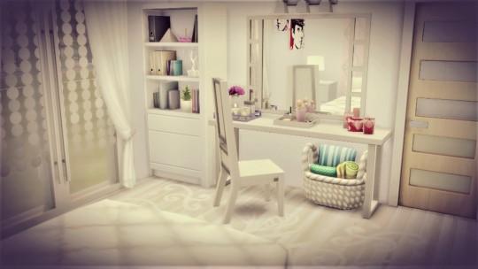 Agathea k: Pure White bedroom