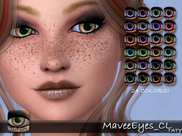 The Sims Resource: Mavee Eyes by Taty