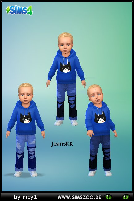 Blackys Sims 4 Zoo: Jeans n1 by nicy1