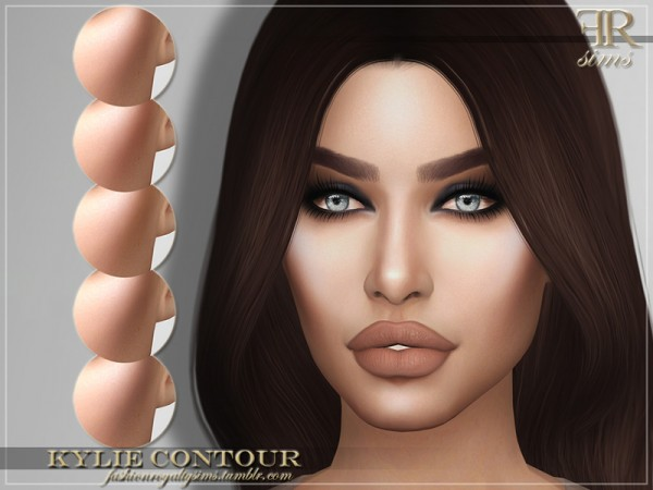 The Sims Resource: Kylie Contour by FashionRoyaltySims