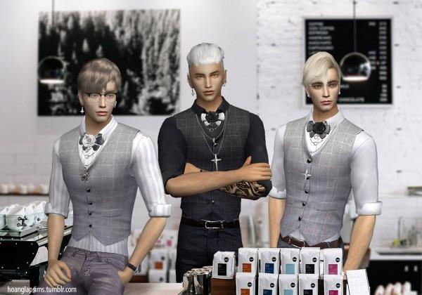 Hoanglap Sims: Cute Waiter outfit