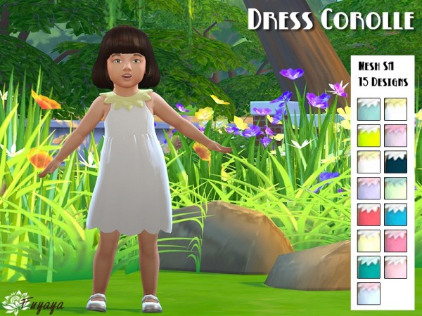 Sims Artists: Toddlers dress