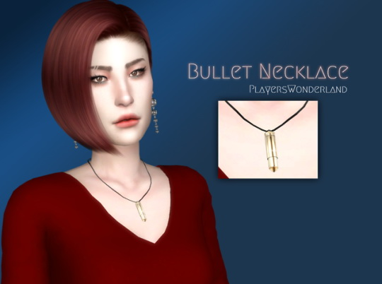 Players Wonderland: Bullet Necklace