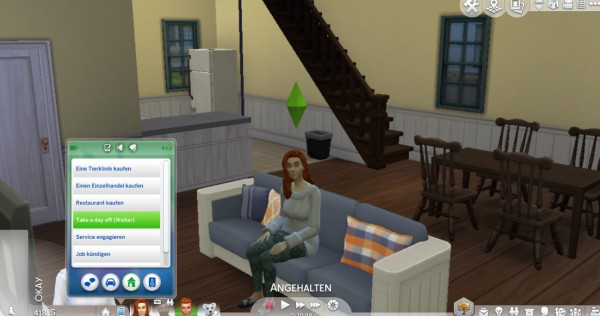 Mod The Sims: Waiter Career (Part Time) by Marduc Plays