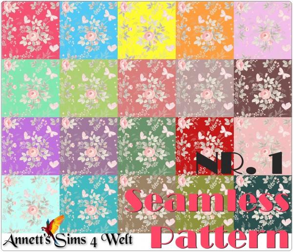 Annett`s Sims 4 Welt: Seamless Walls Pattern   Nr. 1