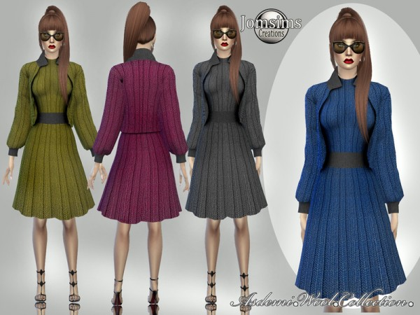 The Sims Resource: Asdemi wool outfit 3 by jomsims