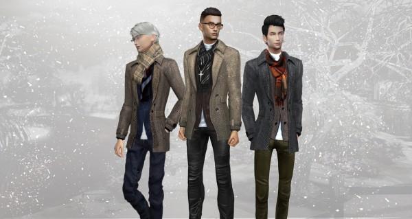 Hoanglap Sims: First Snow coat