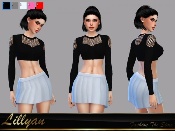 The Sims Resource: Top Cleo by LYLLYAN