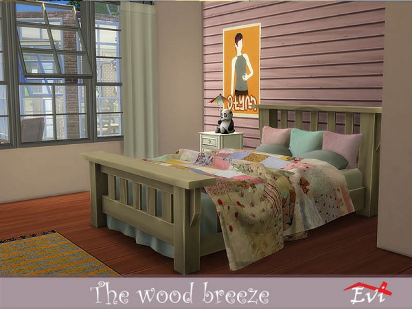 The Sims Resource: The wood breeze house by evi
