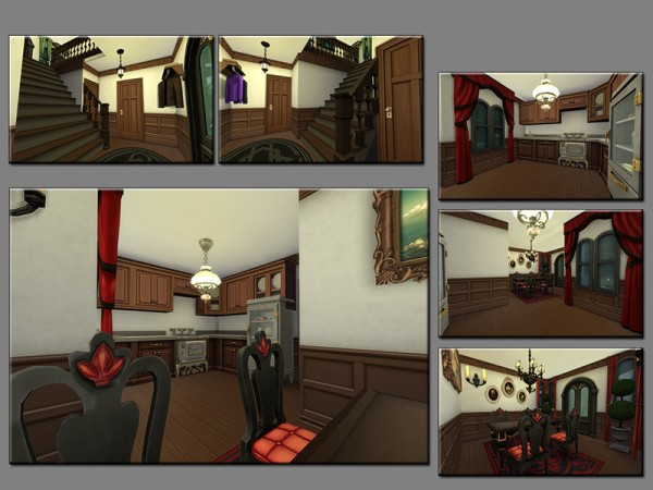 The Sims Resource: Haunted Hollow House by matomibotaki