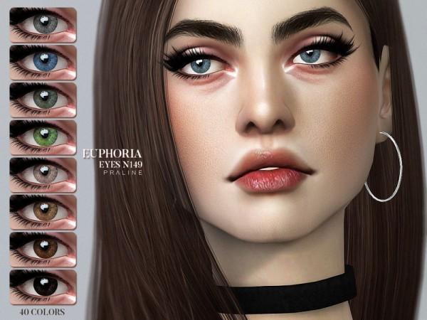 The Sims Resource: Euphoria Eyes N149 by Pralinesims