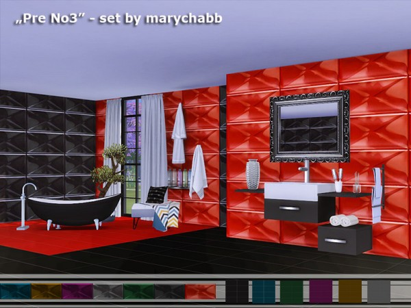The Sims Resource: Pre No 3   Set walls and floors by marychabb