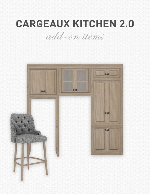 Simplistic: Cargeaux Kitchen 2  Add Ons
