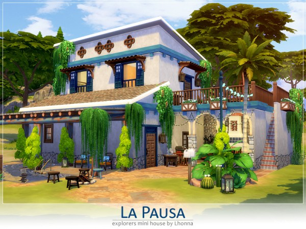 The Sims Resource: La Pausa house by Lhonna