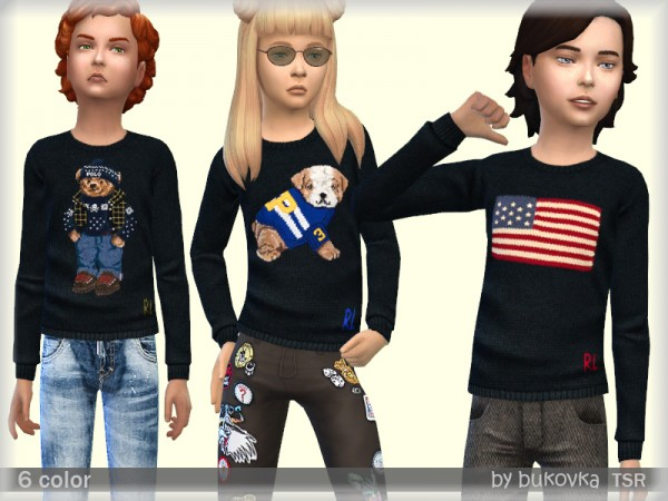 The Sims Resource: Sweater Child by bukovka