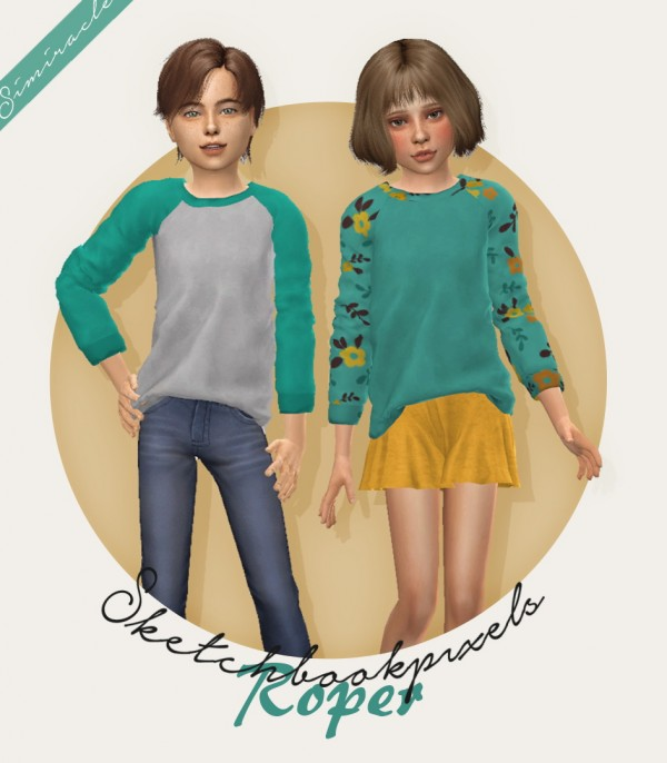 Simiracle: Roper shirt for kids