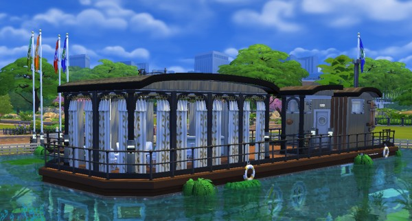 Mod The Sims: A barge for a house ? Welcome home by valbreizh