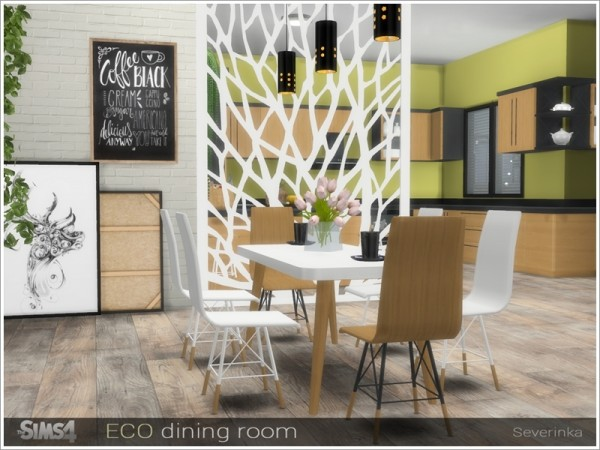 The Sims Resource: ECO diningroom by Severinka