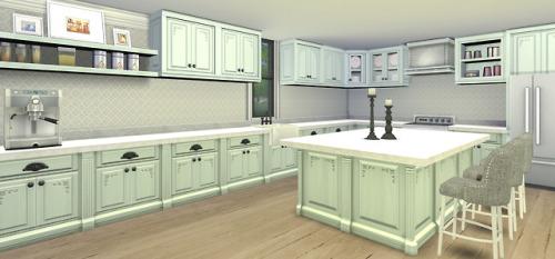 Farmhouse Kitchen Set Sims 4 S
