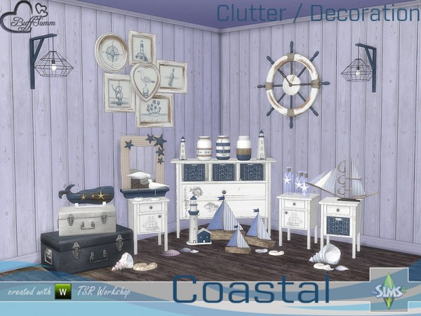 The Sims Resource: Coastal Living Deco by BuffSumm