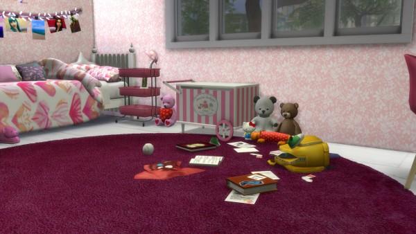 Models Sims 4: Pink Girl Room