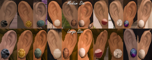 Quirky Kyimu: Ear Gauges Recolor