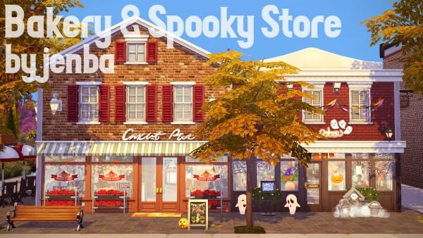 Jenba Sims: Bakery and Spooky Store