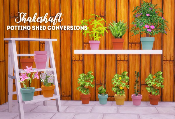 LinaCherie: Shakeshaft potting shed conversions