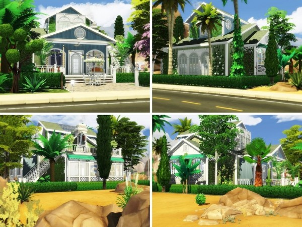 The Sims Resource: Palm View house by MychQQQ