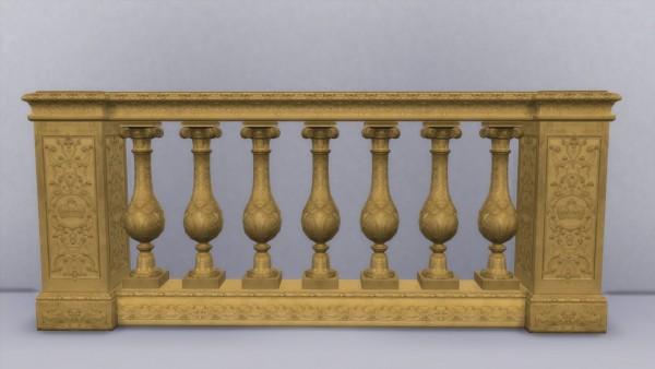 Mod The Sims: Kings Balustrade by TheJim07